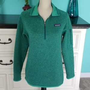 💖 Patagonia 1/4 Zip Better Sweater Pullover Med